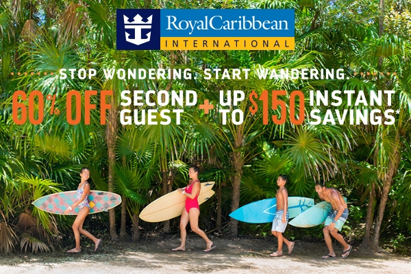 Royal Caribbean January Special