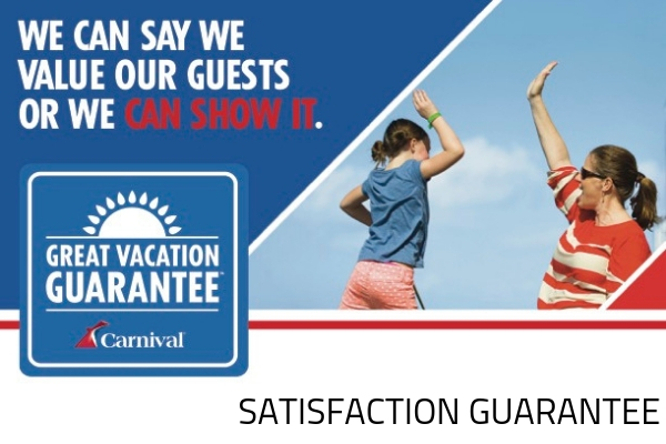 Carnival's Great Vacation Guarantee