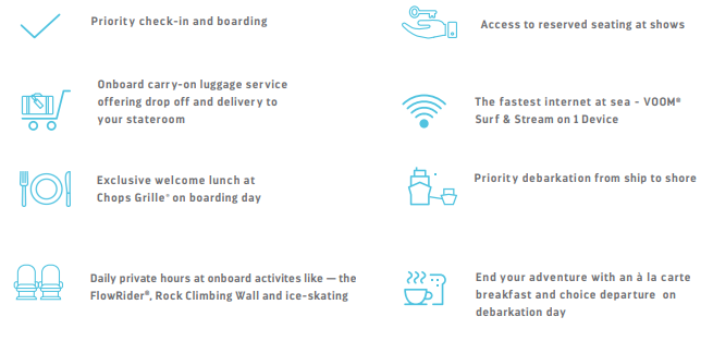 The Key Pass Package by Royal Caribbean